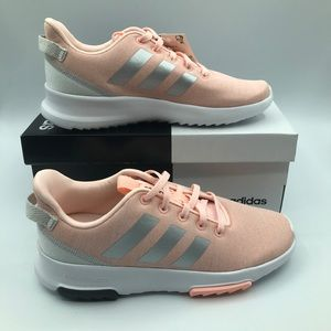 Adidas CF Racer Tr Running Shoe Coral/Silver/White